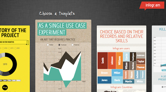 4 сервиса создания своей инфографики